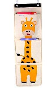 Organizador de Livros Infantis Girafa - O Sapo e a Princesa