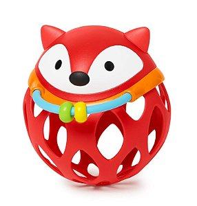 Roll Around Raposa - Chocalho Mordedor - Prêmio de Melhor Brinquedo para Bebê - Skip Hop
