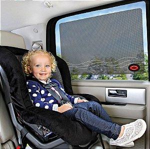 Protetor Solar para Carro Preto (02 unidades) - Munchkin