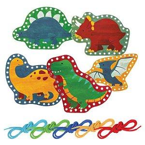 Brinquedo Passa Cordão Dinossauro - Stephen Joseph
