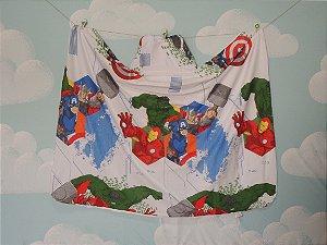 Toalha Infantil (Tamanho Grande) Avengers - Colo de Mãe