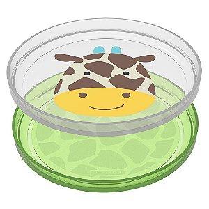 Kit de Pratos Empilháveis Zoo Girafa - Skip Hop