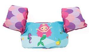 Bóia Colete Infantil Salva Vidas Sirena - Momis Petit