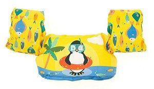 Bóia Colete Infantil Salva Vidas Pinguim - Momis Petit