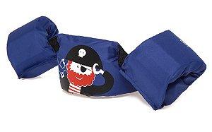 Bóia Colete Infantil Salva Vidas Pirata Azul - Momis Petit