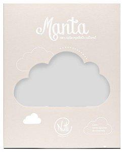 Manta Protetora com Repelente Pompom Cinza - Nutti