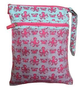 Bolsa Impermeável Polvo Rosa - Ecoeplay