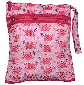 Bolsa Impermeável Siri Rosa - Ecoeplay