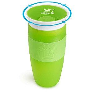 Copo de Treinamento 360 (Miracle Cup) Verde 414ml - Munchkin