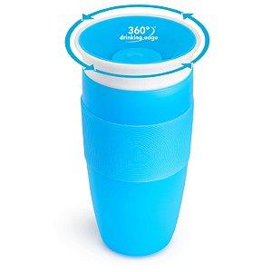Copo de Treinamento 360 (Miracle Cup) Azul 414ml - Munchkin