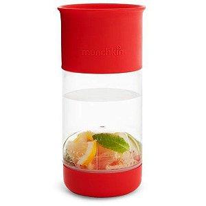 Copo Infusor de Frutas 360 (Miracle Cup) Vermelho - Munchkin