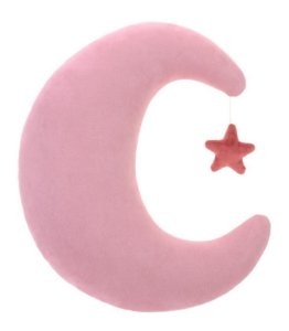 Almofada Lua Rosa - Bupbaby