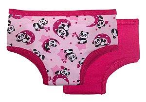 Kit Calcinhas de Treinamento para Desfralde Panda - Ecoeplay