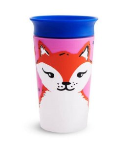 Copo de Treinamento 360 (Miracle Cup) Wild Raposa 270ml - Munchkin