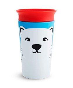 Copo de Treinamento 360 (Miracle Cup) Wild Urso Polar 270ml - Munchkin