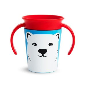 Copo de Treinamento 360 (Miracle Cup) Wild Urso Polar - Munchkin
