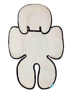 Almofada para Bebê Conforto Branco e Preto - Clingo