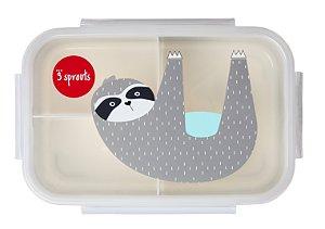 Bento Box (Porta Lanche e Comida) Bicho Preguiça - 3 Sprouts