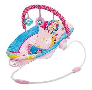 Cadeira de Descanso Infantil Musical Sunset Rosa - Mastela