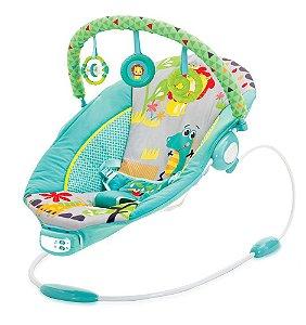 Cadeira de Descanso Infantil Musical Sunset Azul - Mastela