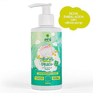 Sabonete Vapor Bath Descongestionante para o Banho do Bebê - Sabonete Líquido e Shampoo Espuma de Vapor - Verdi Natural