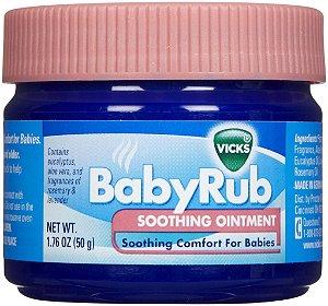 Vick Baby Rub - Pomada Anti Tosse para Bebês - 50g