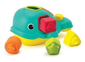 Brinquedo de Encaixe Interativo Baleia - Infantino