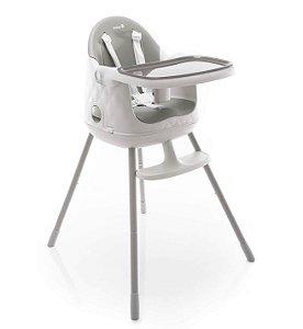 Cadeira de Alimentação Jelly 3 posições de altura até 25Kg Cinza - Safety 1st