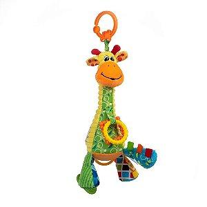 Pelúcia de Atividades Musical Pull String Girafa Gina - Balibazoo