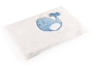 Manta para Bebê De Plush Bege - Baby Pil