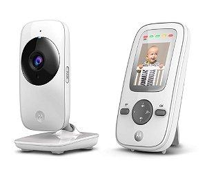"""Babá Eletrônica Motorola MBP481 Tela de 2"""" Alcance de até 300m com Visor Colorido e Visão Noturna - Motorola"""