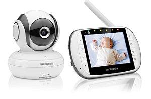 """Babá Eletrônica Motorola MBP36SC Tela de 3,5"""" Alcance de até 300m com Visor Colorido e Visão Noturna - Motorola"""
