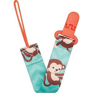 Prendedor de Chupeta Animal Fun Macaco - Buba