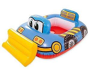 Boia Baby Boat Kiddie com Assento Carro - Intex
