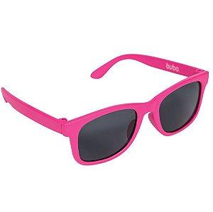 Óculos de Sol Baby com Armação Flexível e Proteção Solar Rosa - Buba