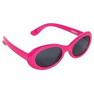 Óculos de Sol Baby com Armação Flexível e Proteção Solar Pink - Buba