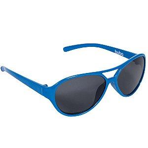 Óculos de Sol Baby com Armação Flexível e Proteção Solar Azul Royal - Buba