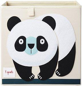 Organizador Infantil Quadrado Panda - 3 Sprouts