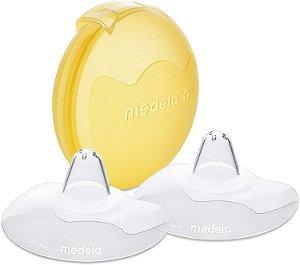Protetor de Mamilo em Silicone para Amamentação Tamanho M (02 Unidades) - Medela