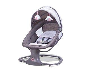 Cadeira de Balanço Automática com Bluetooth Techno Rosa - Mastela