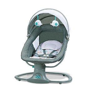 Cadeira de Balanço Automática com Bluetooth Techno Verde - Mastela