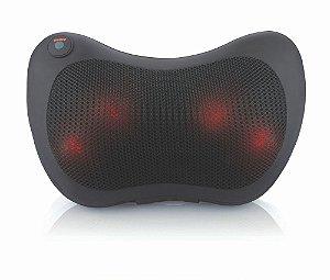 Almofada Massageadora Shiatsu com 4 Bolas de Massagem Terapêutica - Bioland