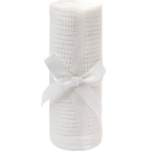 Mantinha Trico Baby Branco - Buba