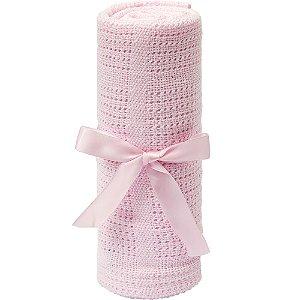 Mantinha Trico Baby Rosa - Buba