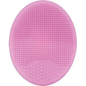 Escova de Banho em Silicone para Bebê Rosa - Buba