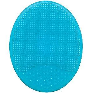 Escova de Banho em Silicone para Bebê Azul - Buba