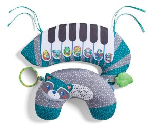 Apoio para Bebê com Piano Guaxinim - Infantino