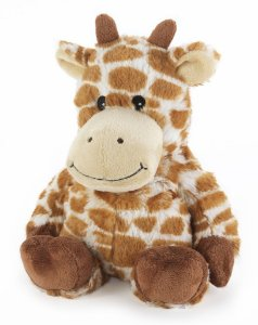 Pelúcia Térmica para Alívio das Cólicas e Aconchego com Aroma Calmante Girafa - Cozy Plush