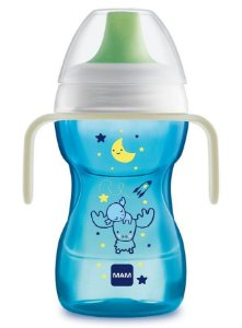 Copo de Treinamento Fun to Drink Night Menino 270ml - MAM