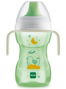 Copo de Treinamento Fun to Drink Night Neutro 270ml - MAM